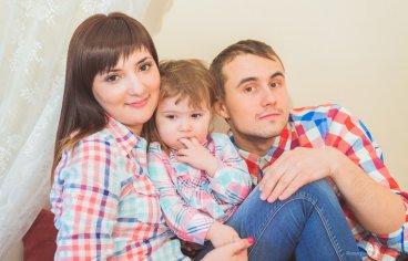 Семейная фотосессия накануне Пасхи-279