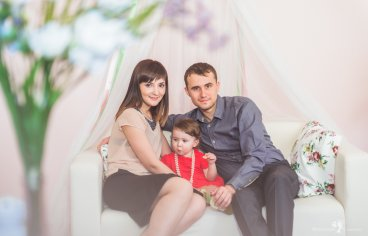 Семейная фотосессия накануне Пасхи-275