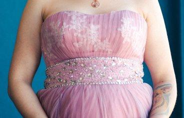 Один из ярких образов в фотосессии беременности.-367