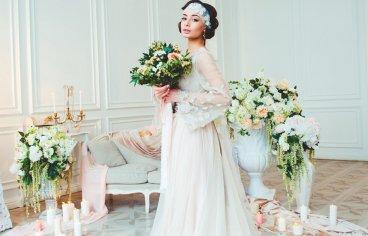 Стильная свадебная фотосессия в стиле 30-х годов.-527