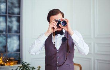 Стильная свадебная фотосессия в стиле 30-х годов.-522