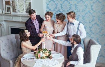 Стильная свадебная фотосессия в стиле 30-х годов.-516